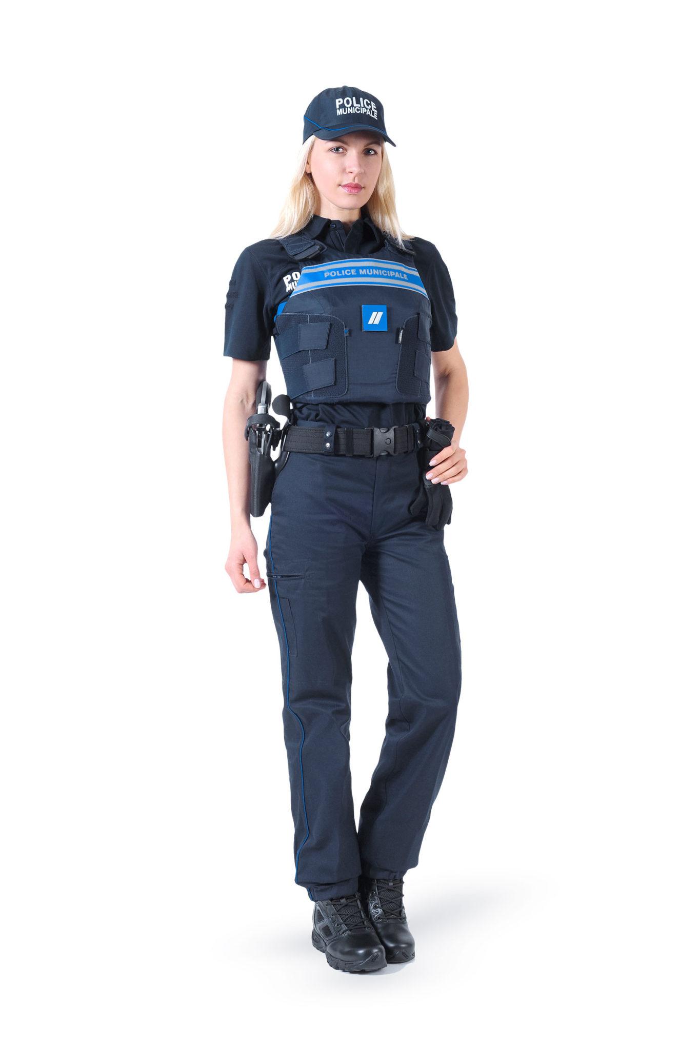 Visuel Polices Municipales dans les métiers Rivolier Sécurité Défense