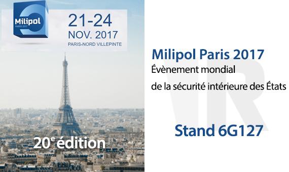 21 11 salon milipol paris 2017 groupe rivolier site for Salon milipol 2017